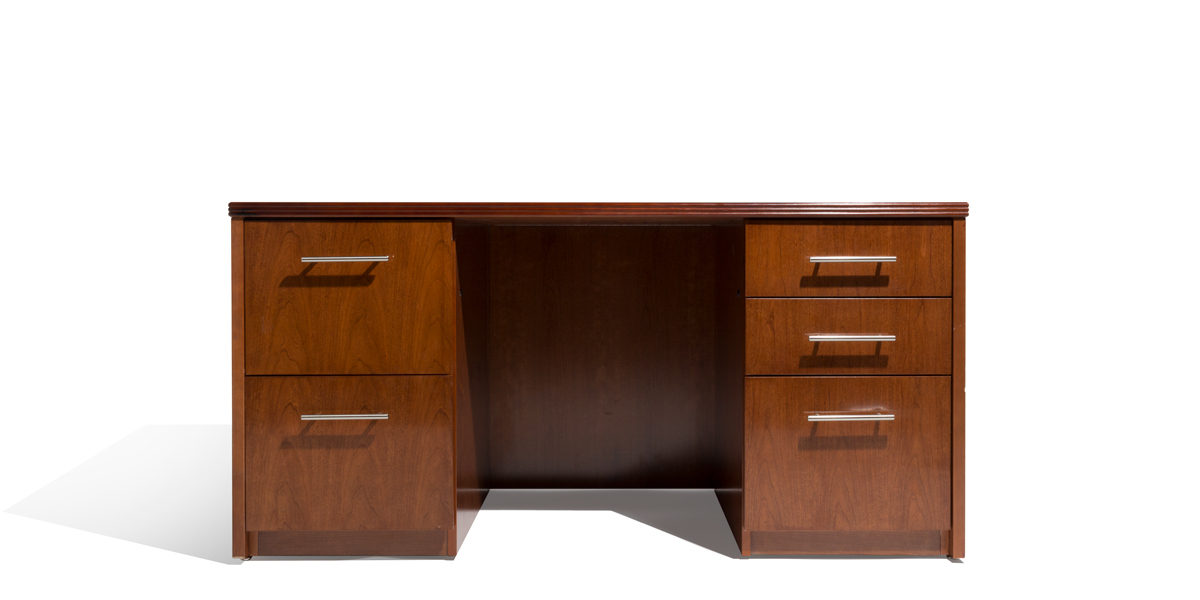 "60""w x 30""d Cherry Desk DSK014156"
