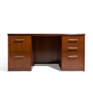 """60""""w x 30""""d Cherry Desk DSK014156"""