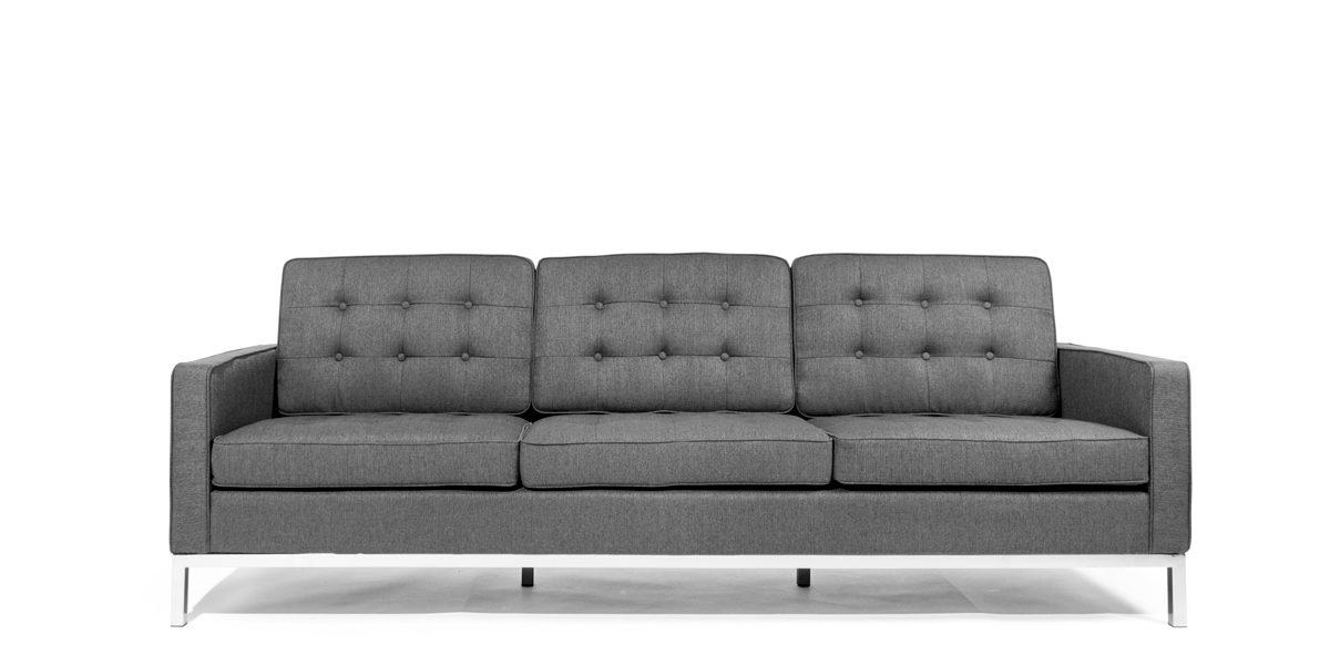 "91.5""w x 31""d Grey Loft Sofa SOF014195"