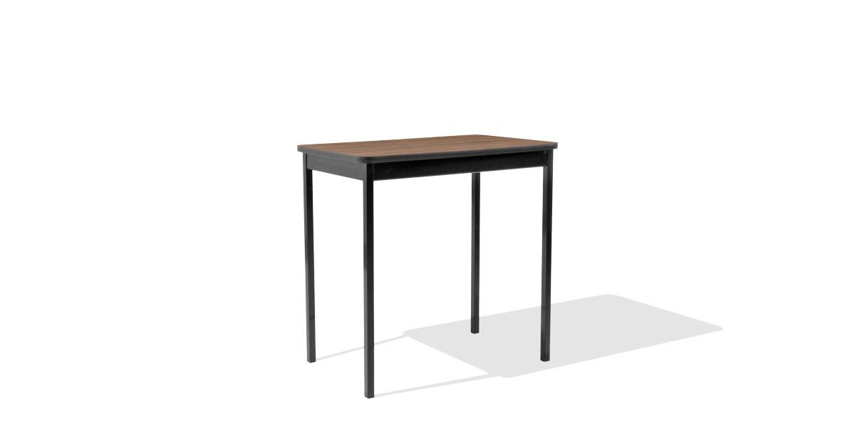 "30""w x 18""d Black Work Table TBL011767"