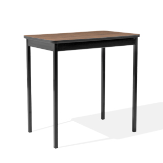 "30""w x 18""d Black Work Table TBL011767"