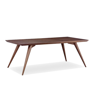 "78.5""w x 39.5""d Walnut Table TBLNS001"