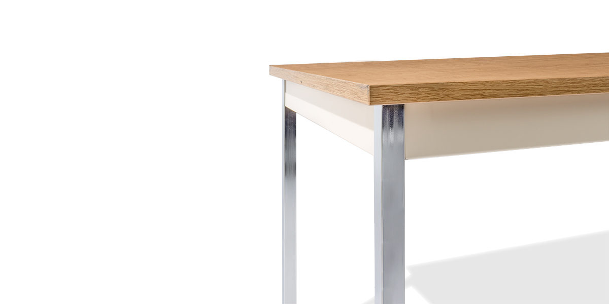 """48""""w x 30""""d Medium Oak Work Table TBL013853"""
