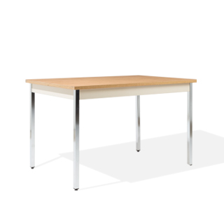 "48""w x 30""d Medium Oak Work Table TBL013853"