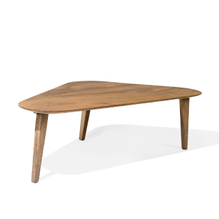 "52""w x 27""d Light Walnut Coffee Table TBL014178"