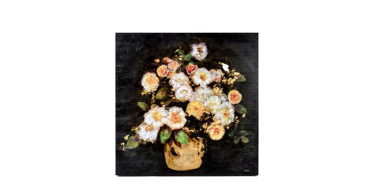 "40""w x 30""h Floral Art ART014270"