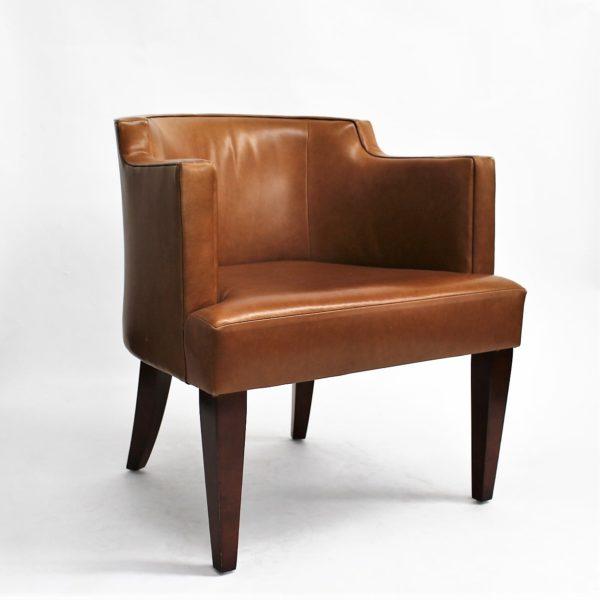 HBF Leather Club Chair (qty:4) CLUB103
