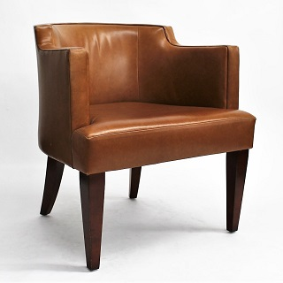 HBF Leather Club Chair (qty:4) CLUB103