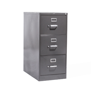 "18.25""w x 26.5""d Charcoal Vertical File FIL014289"