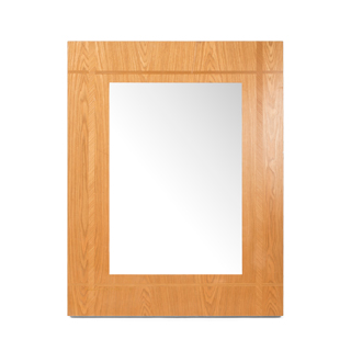 "46""w x 36""h Medium Cherry Mirror MIR001764"