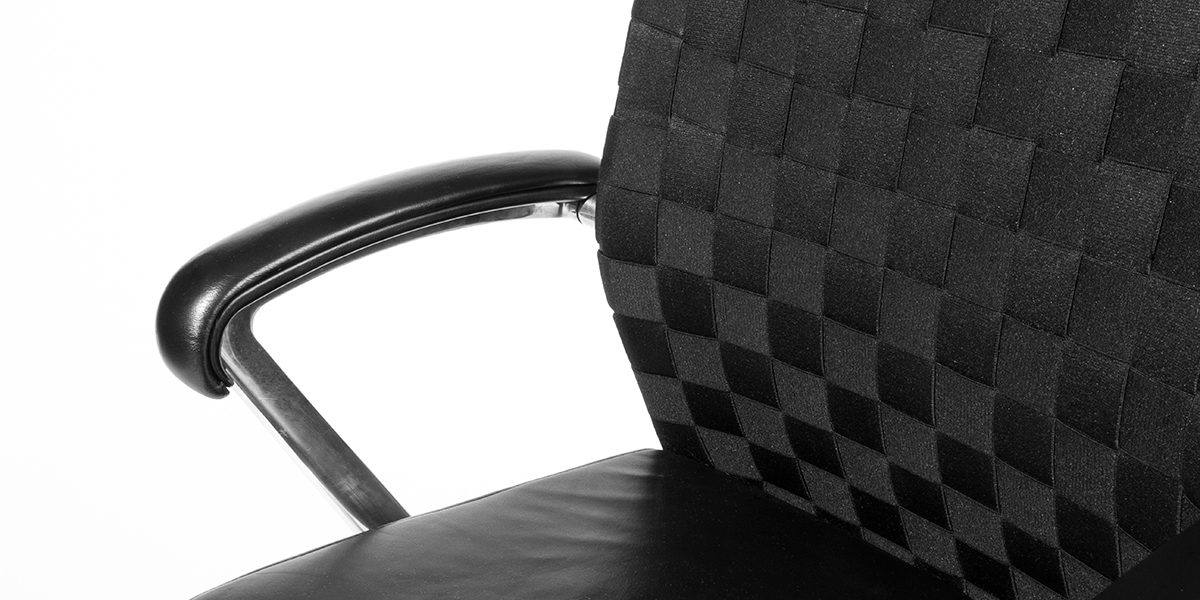 Black Mid-Back Swivel Chair CHR010807