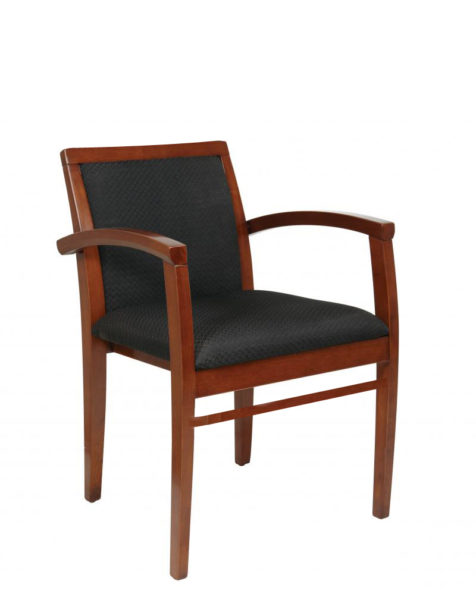 Black Fabric Guest Chair CHR012056