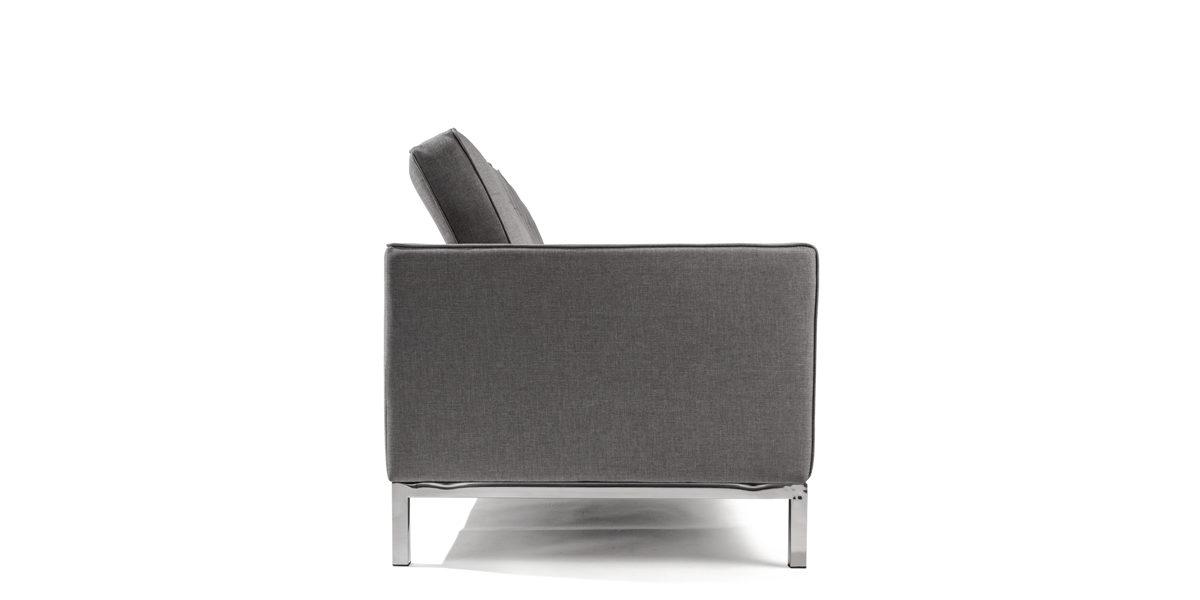 """91.5""""w Granite Grey Sofa SOF014172"""
