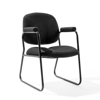 Black Arm Chair CHR000173