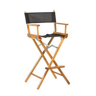 Natural Wood Director's Chair CHR013495