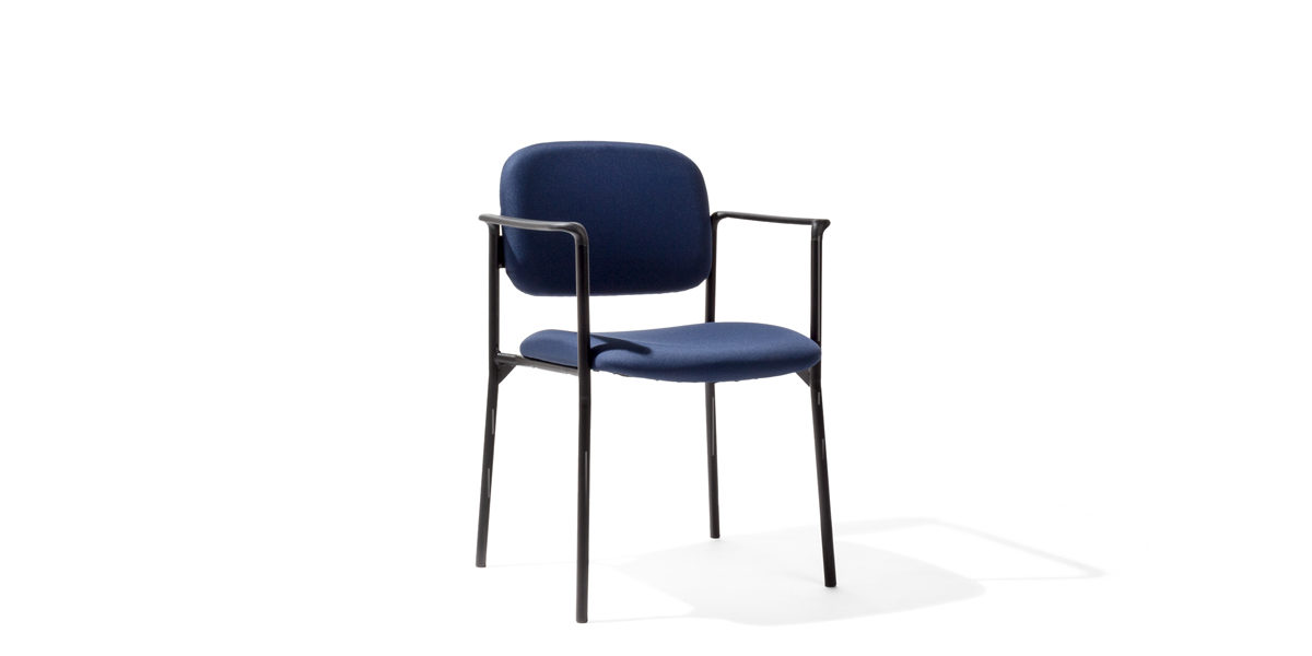 Blue Fabric Stacking Chair CHR014267