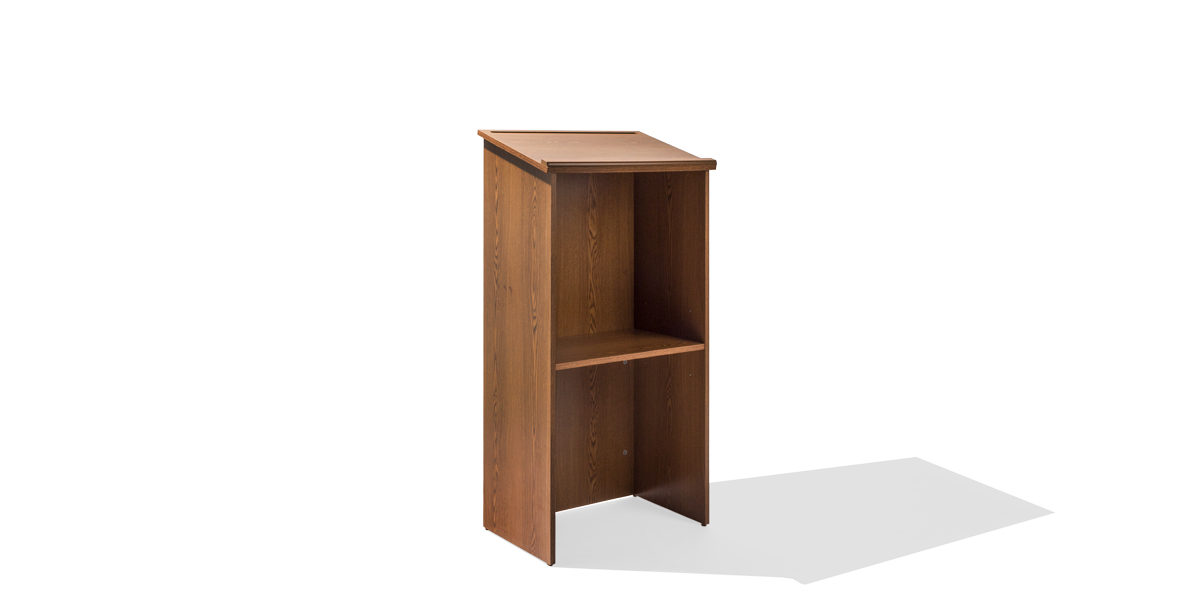 "23.25""w x 46""h Medium Oak Lectern LEC013868"