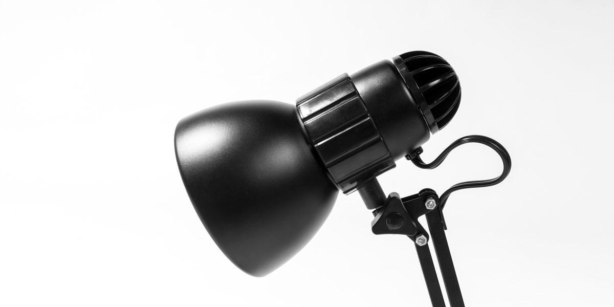 Matte Black Task Lamp LGT014144