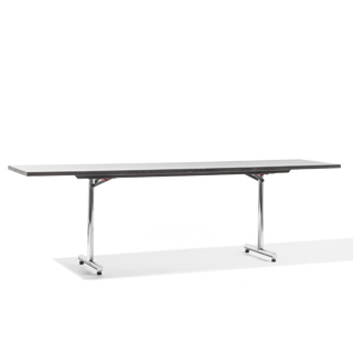 "96""w x 24""d Grey Folding Table TBL003653"
