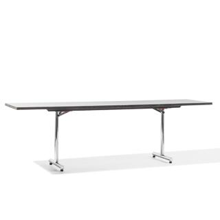 "96""w x 24""d Grey Folding Table TBL003653"
