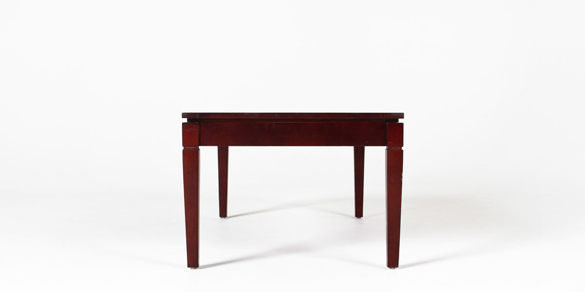 "23""w x 45""d Medium Cherry Coffee Table TBL008601"