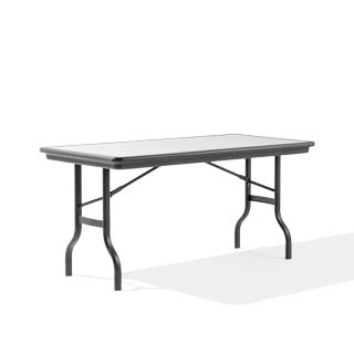 "60""w x 30""d Grey Folding Table TBL010613"
