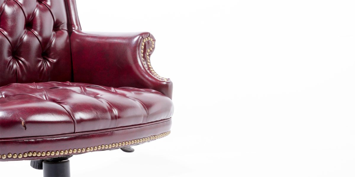 Traditional Oxblood Hi-Back Chair TRD004238