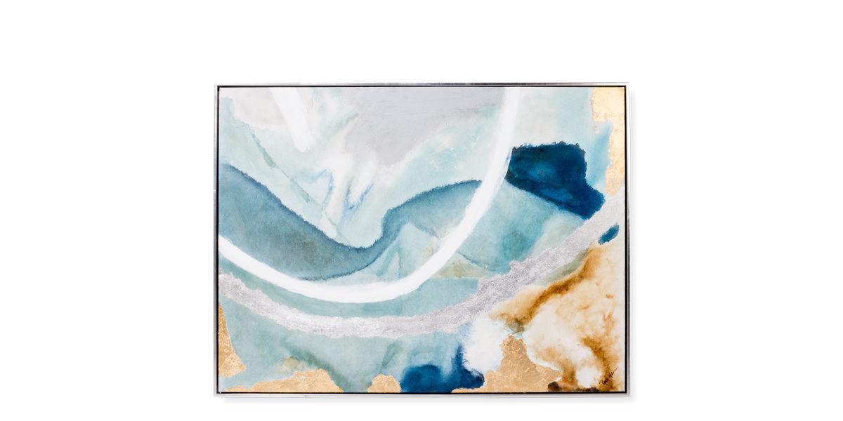 """50""""w x 40""""h Abstract Art ART014329"""