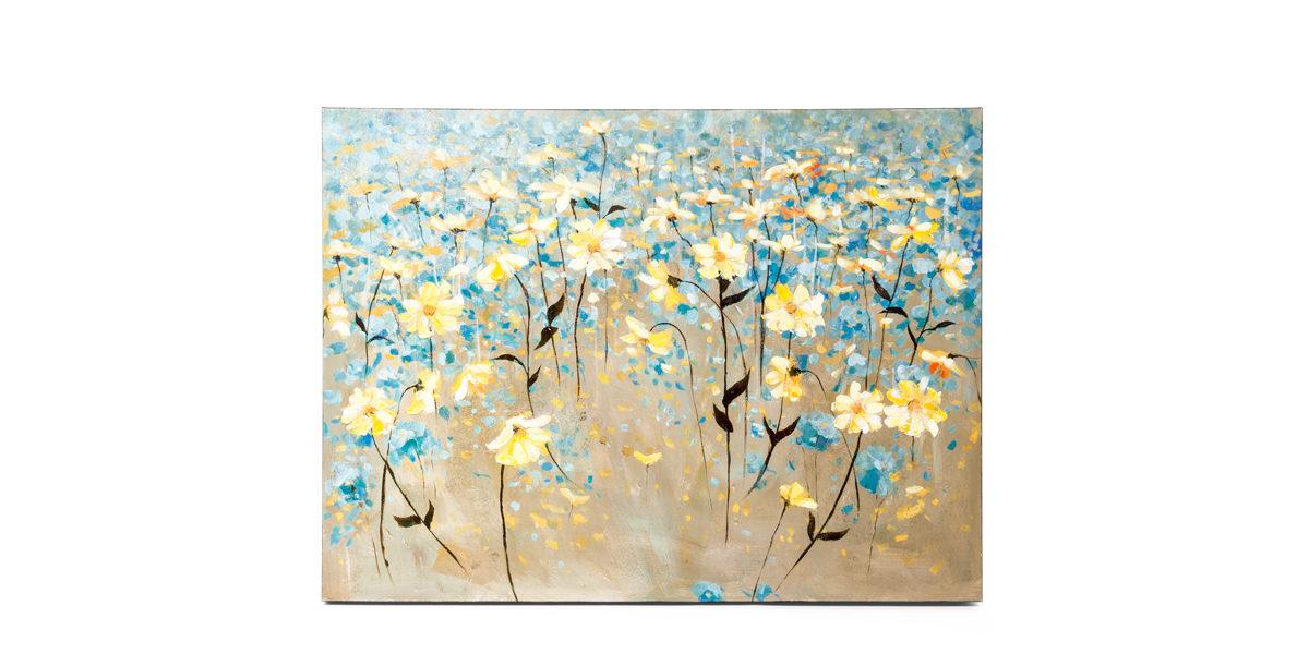 "48""w x 36""h Floral Art ART014331"