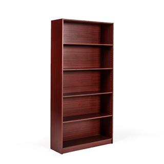"""42""""h + 72""""h Mahogany Bookcase BKC001140 + BKC001182"""