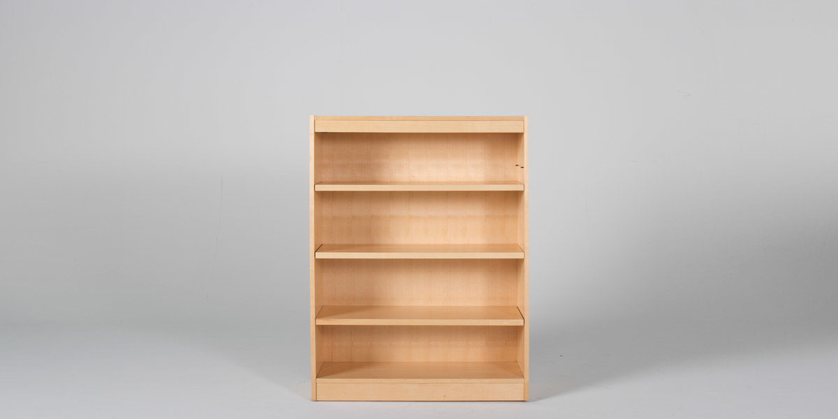 "36""w x 48""h Maple Bookcase BKC010442"