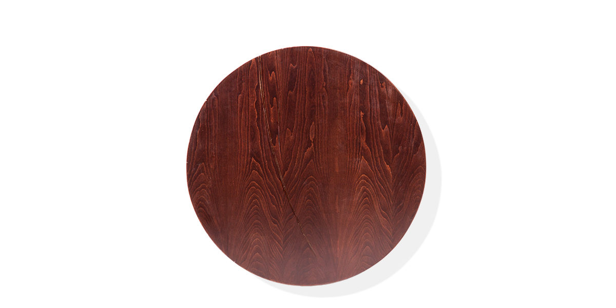 "36""dia Walnut Veneer Round Table Top TBL009414"