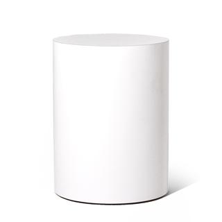 """15""""dia White Laminate Coffee Table TBL013176"""