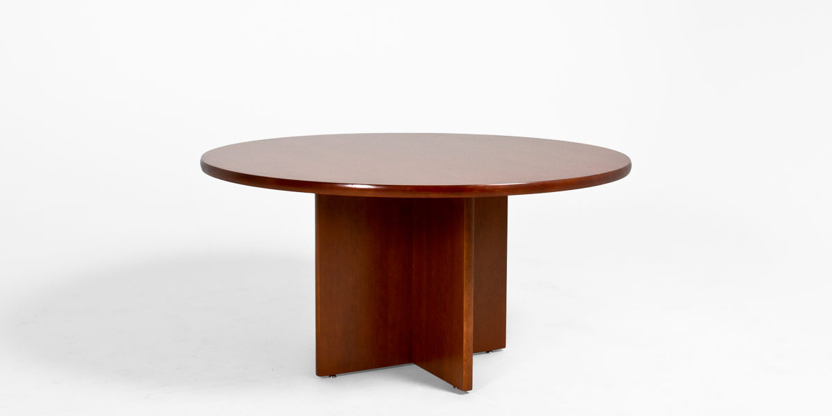 "60""dia Cherry Round Table TBR005354 - Arenson Office Furnishings"