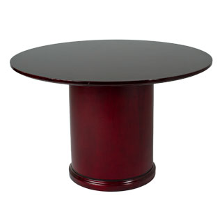 "48""dia Mahogany Round Conference Table TBR011947"