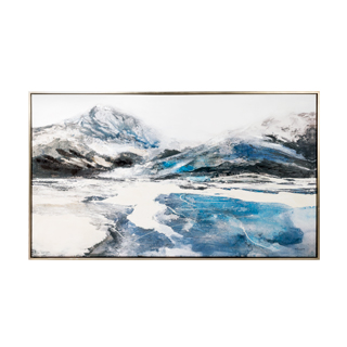 "70""w x 40""h Blue Abstract Art ART014328"