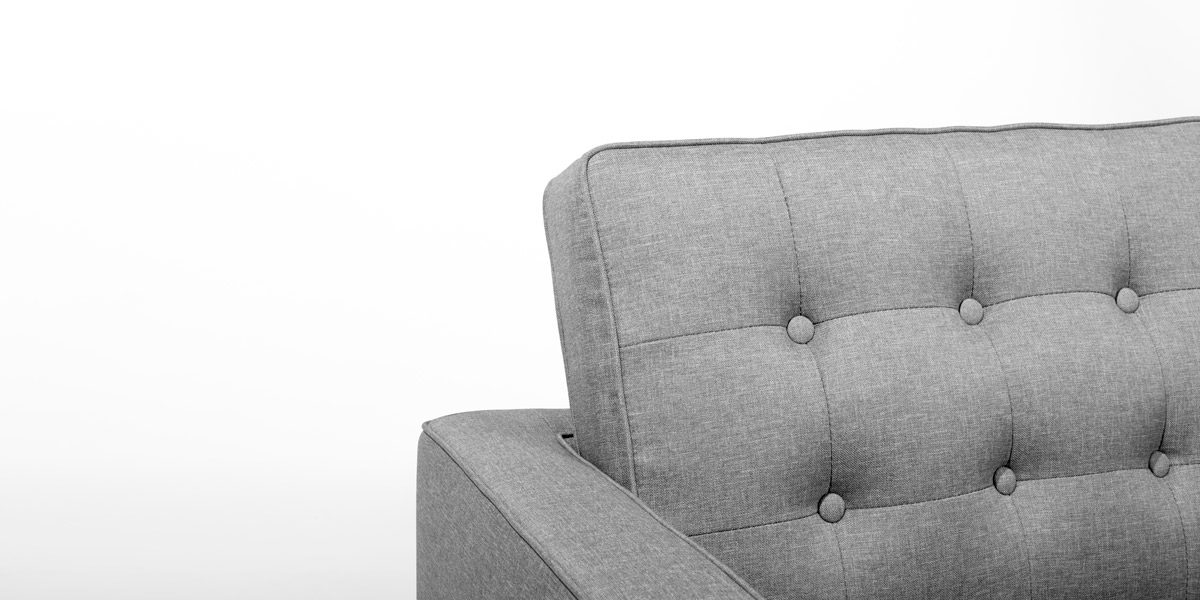 Light Grey Club Chair CHR014361