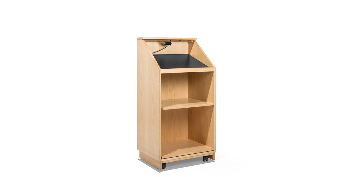"24""w x 47""h Maple Lectern LEC013858"