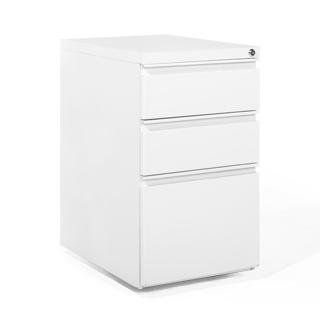 """15""""w x 22""""d White Metal Pedestal PED013643"""