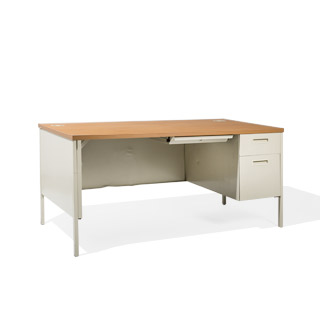 "66""w x 30""d Putty Desk DSK014259"