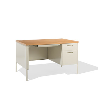"48""w x 30""d Putty Desk DSK014262"