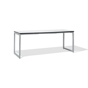 "72""w x 24""d White Table Desk DSK014378"