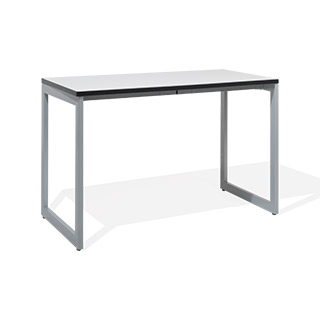 "48""w x 24""d White Laminate Table Desk DSK014379"