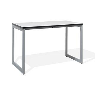 """48""""w x 24""""d White Laminate Table Desk DSK014379"""