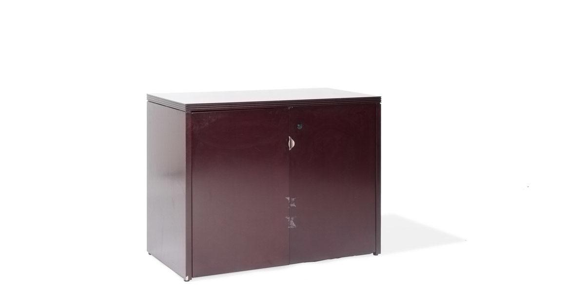 "37""w x 20""d Mahogany Storage Cabinet CAB013706"