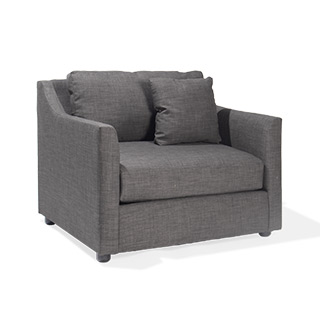 Charcoal Grey Club Chair CHR014454