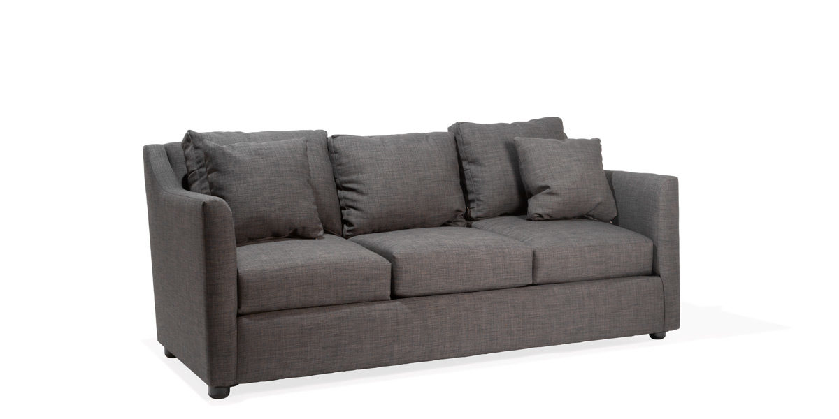 "80""w x 40""d Charcoal Grey Sofa SOF014452"