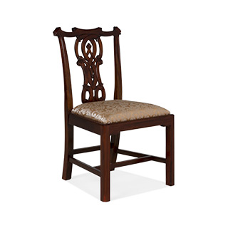 Walnut Chippendale Side Chair CHR012542