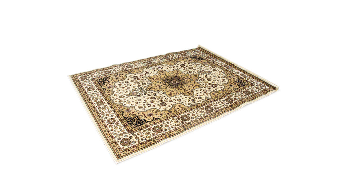 5' X 8' Area Rug In Ivory MIS014498