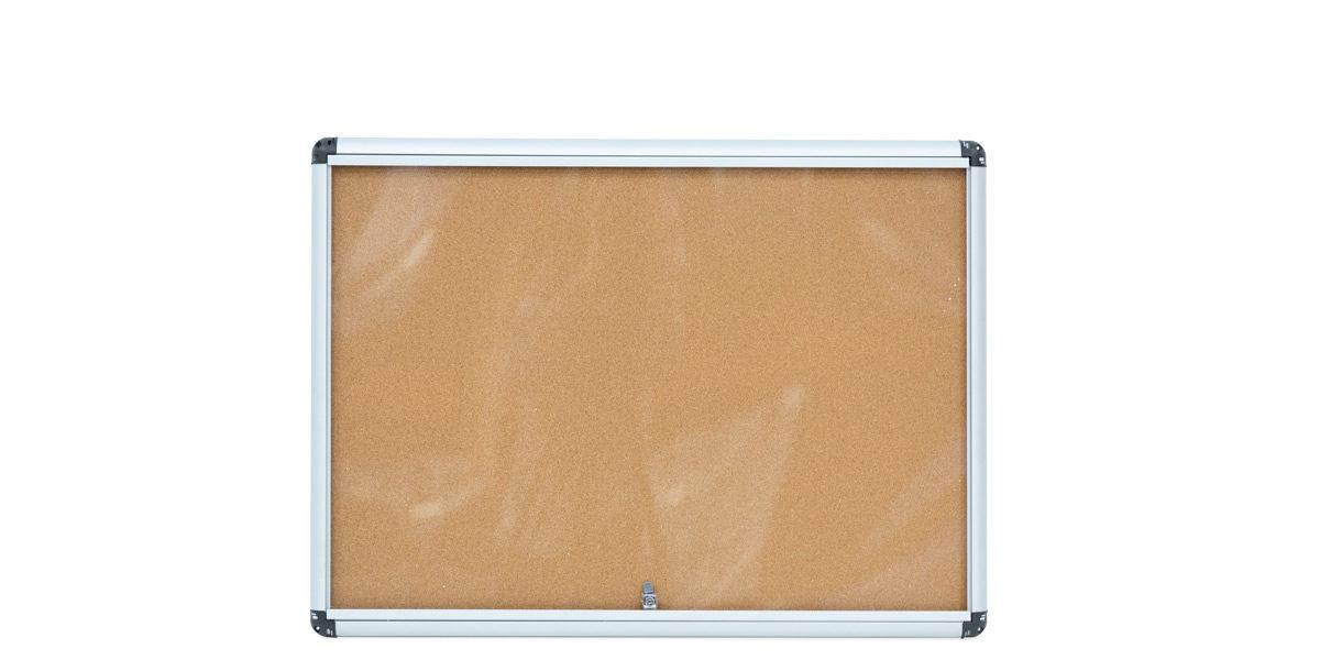 """28"""" X 38"""" GLASS ENCLOSED BULLETIN BOARD MIS014429"""